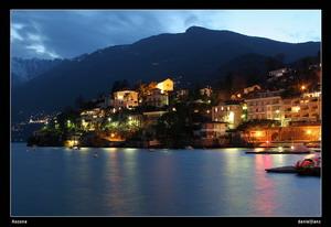 Blaue Stunde in Ascona