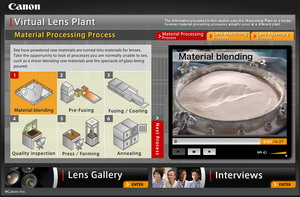 Canon Virtual Lens Plant